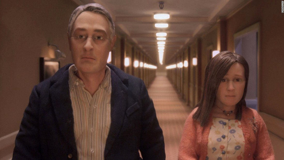 "<strong>""Anomalisa"" :</strong> Charlie Kaufman wrote and directed this stop action animated drama about a customer service expert who meets a shy woman during a convention. <strong>(Amazon Prime, Hulu) </strong>"