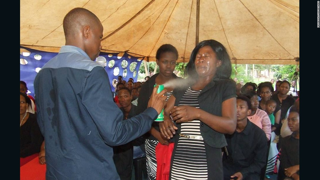 Photos: South African Pastor Strips Female Church Members