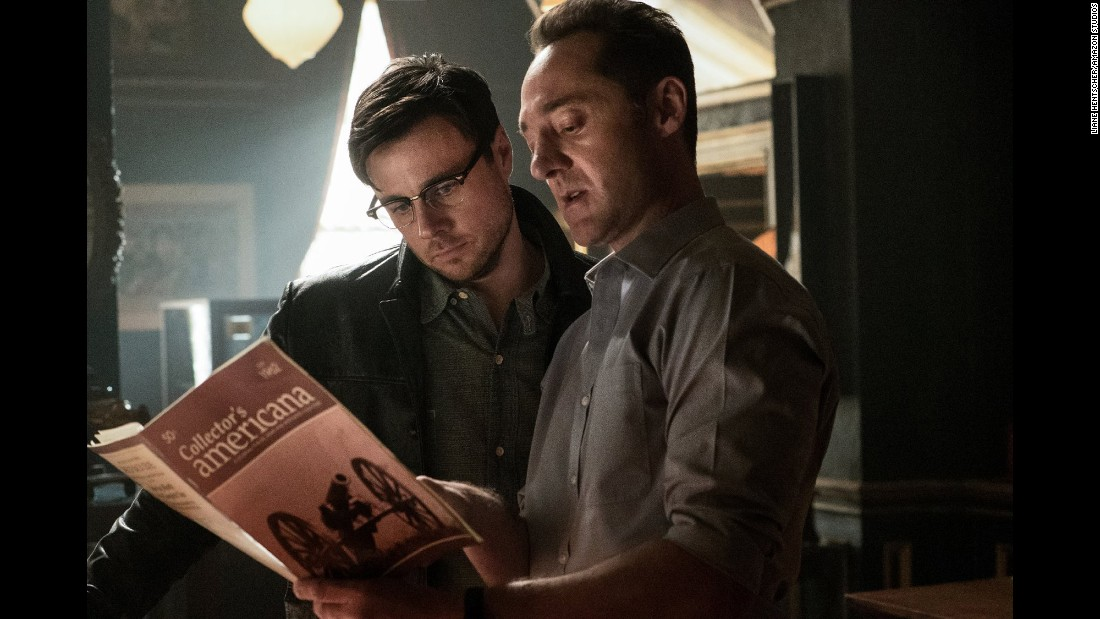 "<strong>""The Man in the High Castle""</strong> :  Rupert Evans and Brennan Brown star in this series which re-imagines history had the Nazis won. <strong>(Amazon Prime)</strong>"