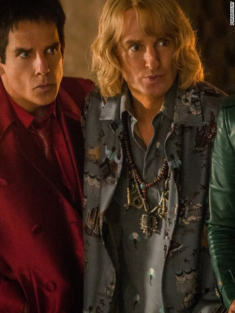 Ben Stiller, Penélope Cruz, and Owen Wilson in Zoolander 2 (2016)Titles: Zoolander 2People: Ben Stiller, Penélope Cruz, Owen WilsonCharacters: Derek Zoolander, Hansel, Valentina ValenciaPhoto by Photo credit: Philippe Antonello - © 2015 Paramount Pictures. All Rights Reserved.