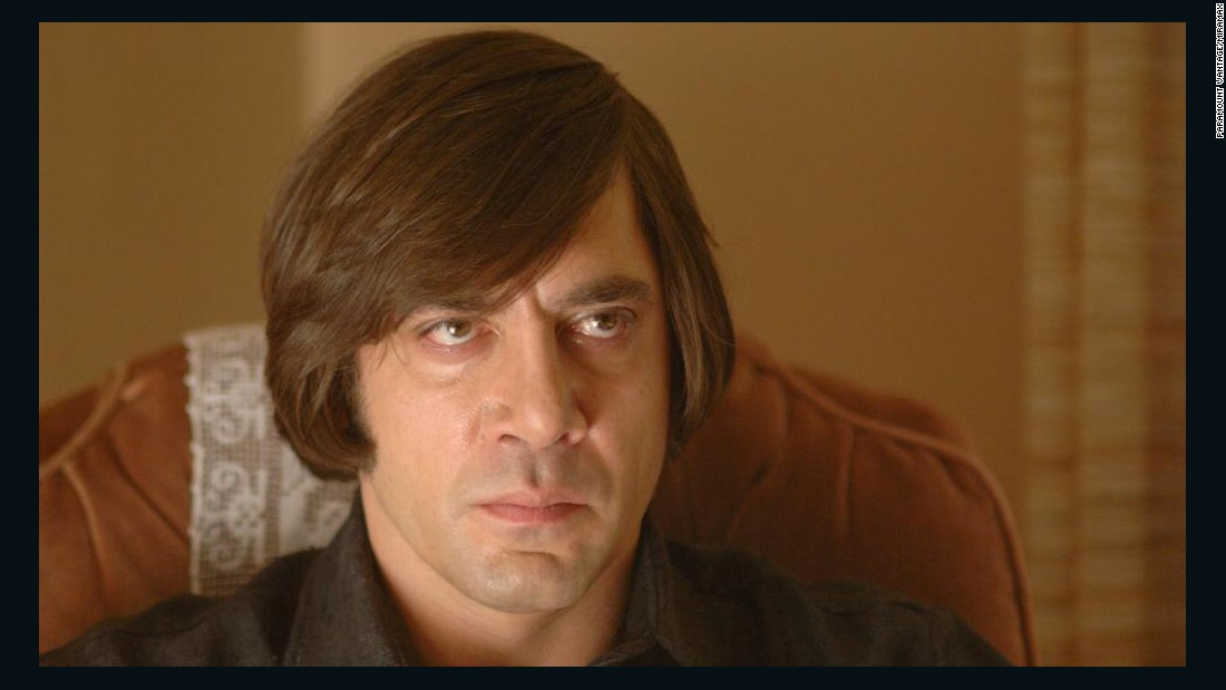 "<strong>""No Country for Old Men""</strong>:  Javier Bardem is a hit man in this film adaptation of the Cormac McCarthy novel of the same name. <strong>(Hulu)</strong>"