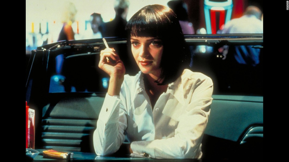 "<strong>""Pulp Fiction"" </strong>: Uma Thurman stars as a crime lord's wife in the Quentin Tarantino directed film. <strong>(Hulu) </strong>"