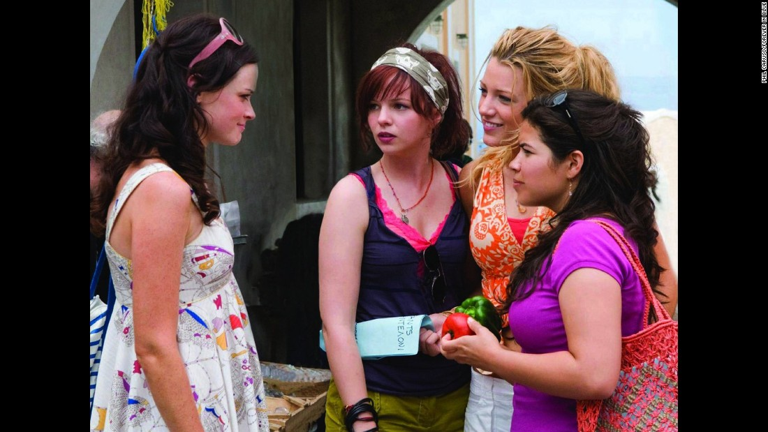 "<strong>""The Sisterhood of the Traveling Pants 2""</strong> : Alexis Bledel, Blake Lively, Amber Tamblyn, and America Ferrera reunite for the sequel of the 2005 original. This time around the group are college students brought together by some magical pants.<strong> (HBO Now) </strong>"