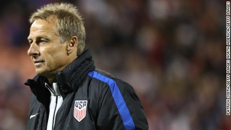 Klinsmann managed the US from 2011-2016