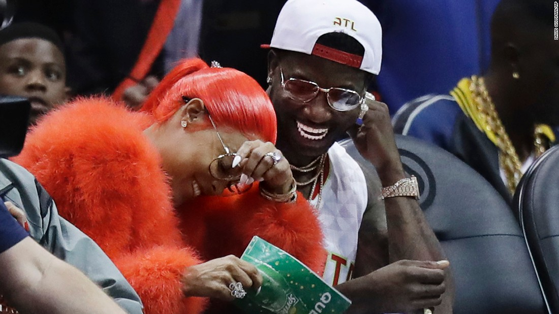 Gucci Mane Proposes At Atlanta Hawks Game