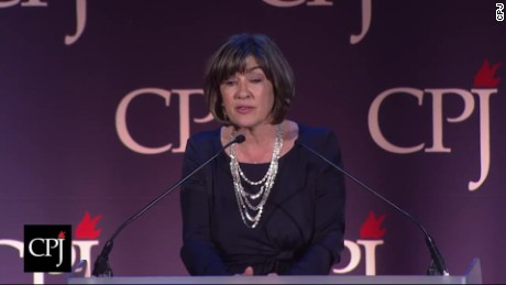 christiane amanpour freedom press burton benjamin award full speech_00080106