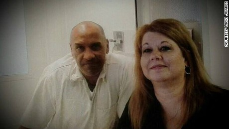 David Morales, left, and Vicki Juarez.