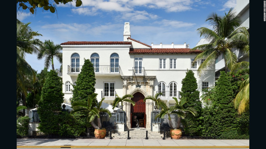 This gaudy Ocean Drive mansion, originally built by an heir to the Standard Oil fortune, would probably have disappeared into the annals of bad taste had Miami transplant Gianni Versace not bought it in 1993 for $2.9 million. After the sale, Versace spent $33 million in renovations.