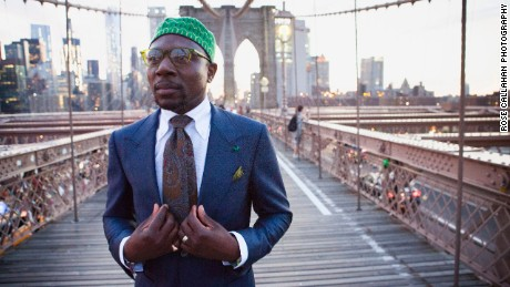 Defustel Ndjoko photographed in New York