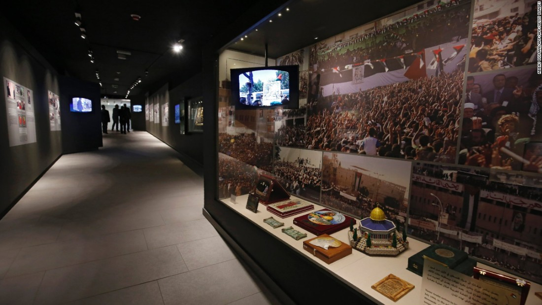 The Yassar Arafat Museum, in Ramallah, pays tribute to the former Palestinian leader. Its opening on November 10, 2016, marked the 12th anniversary of his passing.