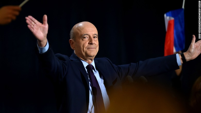 Bordeaux Mayor Alain Juppé at a public meeting in Toulouse, southern France, on Tuesday.