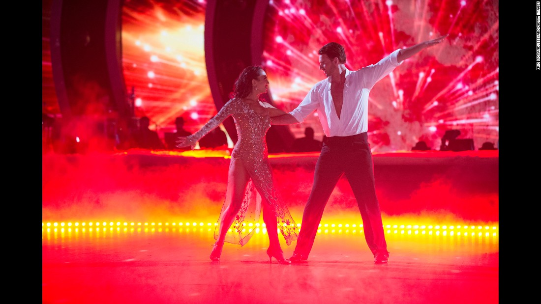 "Olympic swimmer Ryan Lochte dances with Cheryl Burke during an episode of ""Dancing With the Stars"" on Monday, October 24. Lochte was trying to <a href=""http://www.cnn.com/2016/08/20/sport/us-olympics-swimmers-reported-robbery-future/index.html"" target=""_blank"">rebuild his public image</a> following a scandal in Rio de Janeiro. Lochte and three other US swimmers initially said they were robbed at gunpoint there by men in police uniforms. Brazilian police <a href=""http://www.cnn.com/2016/08/18/sport/us-swimmers-olympics-robbery-questions/index.html"" target=""_blank"">said the athletes concocted a story</a> to cover up an act of vandalism that led to a confrontation with security guards."