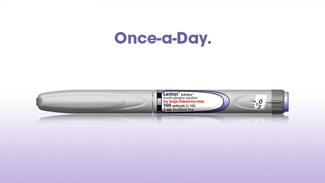 Diabetics use the Lantus SoloSTAR pen to inject insulin. It was the fourth most-prescribed medication in 2014-15, with 11,167,187 prescriptions written.