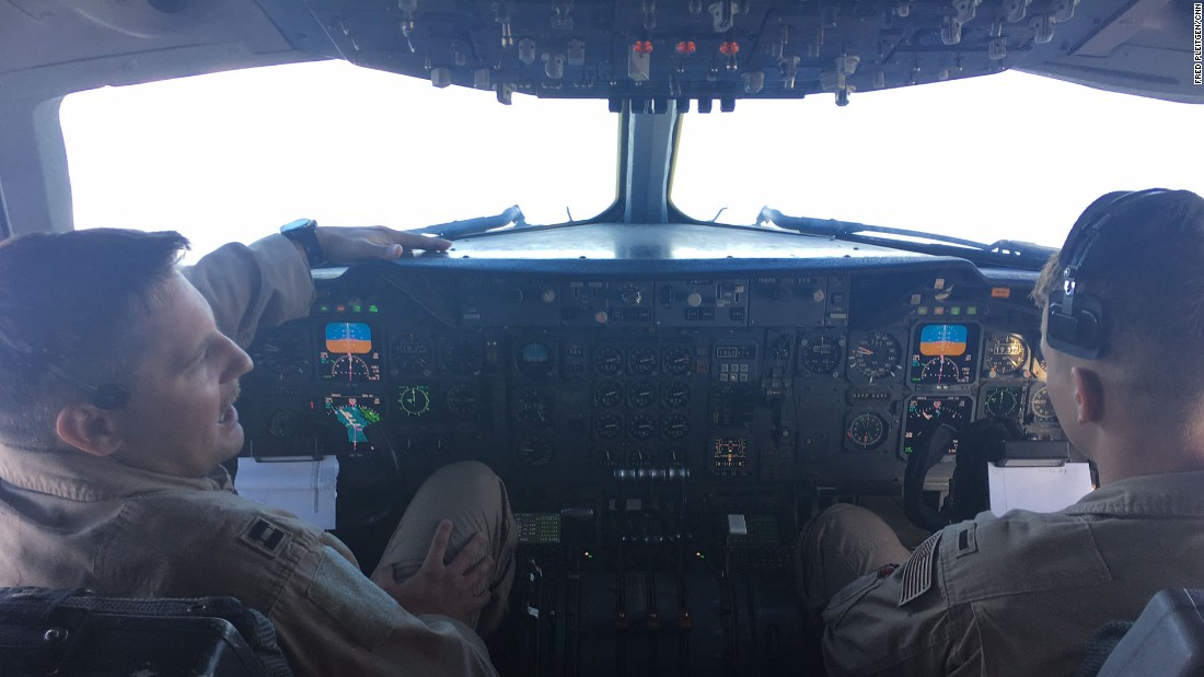 """I think we are making a huge difference here,"" says co-pilot 1st Lt. Tyler Johnson."