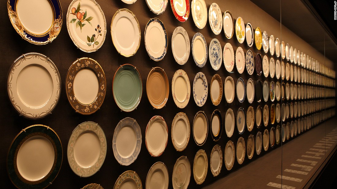Noritake visitors can see creations dating back a century to the company's beginnings and kids can paint their own ceramics.