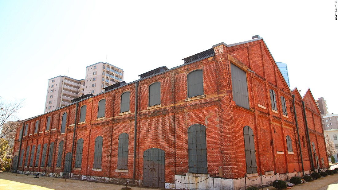 Aichi has long been one of Japan's biggest producers of ceramics. This large brick space celebrates long-running ceramic maker Noritake, which was founded in 1904.
