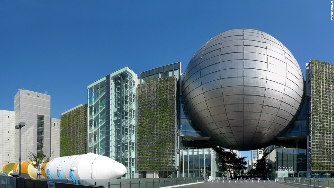 The Nagoya City Science Museum is home to the world's largest planetarium dome, which has a diameter of 35 meters.
