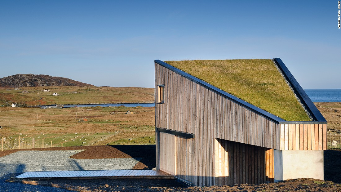 "Rural Design's Turf House was profiled on British architecture TV show Grand Designs. ""It was a very popular program at the time,"" says Dickson, ""I think a lot of people aspire to an idea of living in places like the Isle of Skye, it touches many people's dreams."""