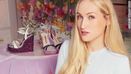 Shoe designer Sophia Webster