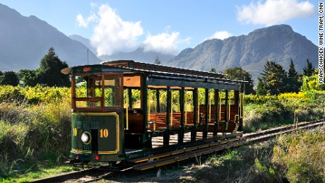 Booze on the tracks: South Africa's wine tram