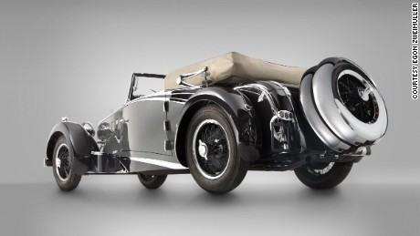 Many of the Bergmeister's design details could be traced back to the time when Porsche founder Ferdinand Porsche was chief designer at the Austrian Daimler Motor Company