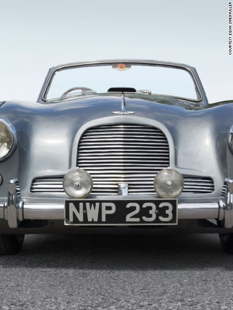This rare 1954 AstonMartin DB2-4 Drophead was restored by Zweimüller.
