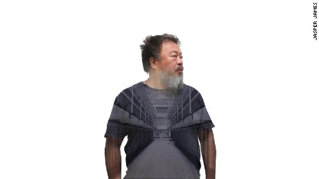 James was commissioned by the Smithsonian to shoot Ai Weiwei for his exhibition in Alcatraz, in 2014