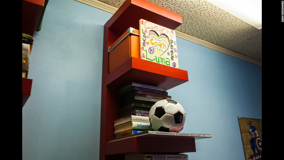 Academics are vital to the mission of the Fugees Family, but so is soccer. According to Mufleh, refugees new to the US often don't speak English, but the language of soccer is universal.