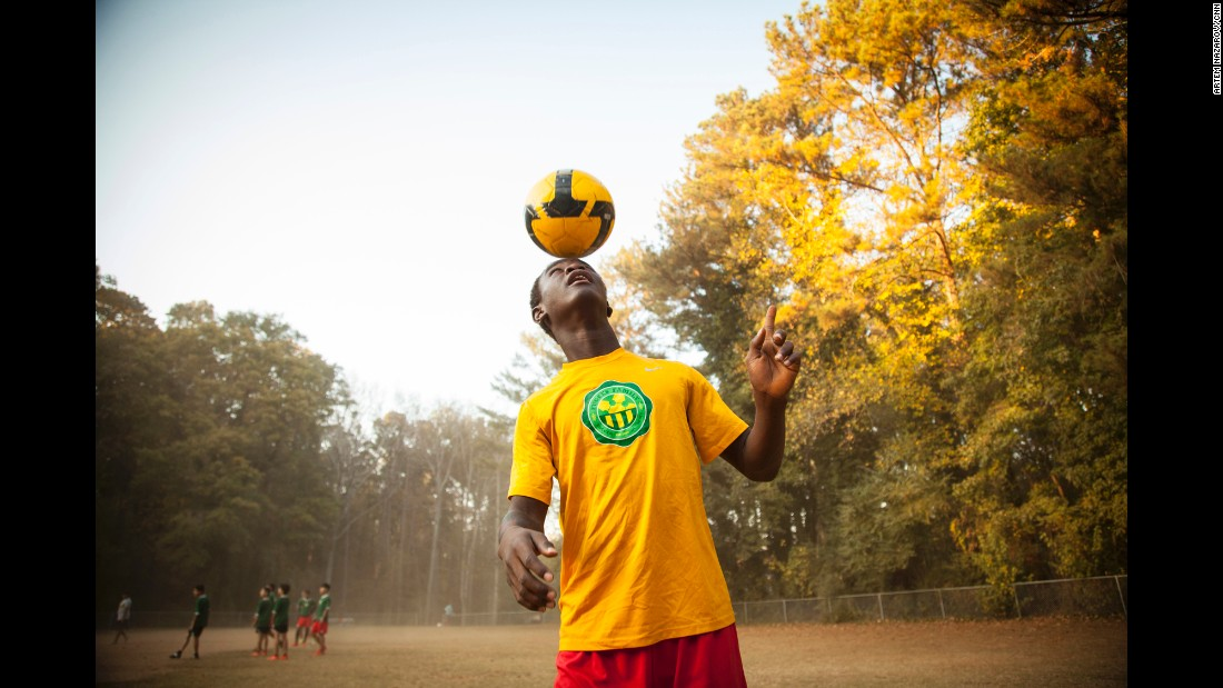 For children of the Fugees Family who have survived atrocities or are struggling to adapt to life in their new home, soccer is a much-needed escape.