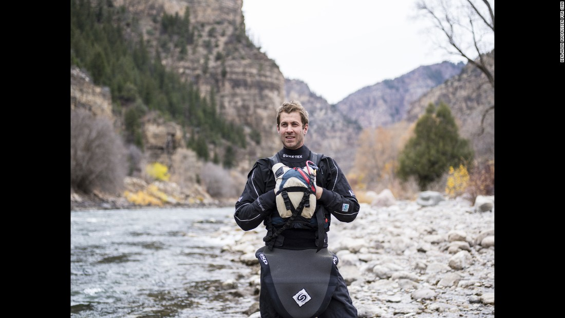 CNN Hero and kayaker Brad Ludden founded First Descents to give young adults with cancer life-changing experiences.