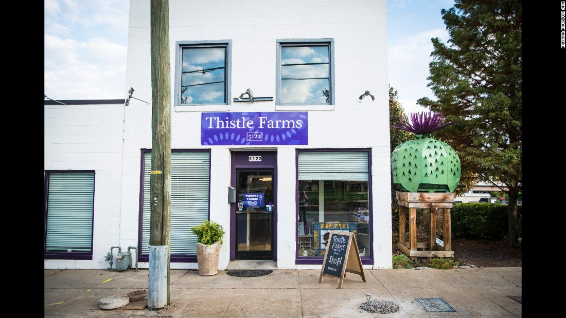 Thistle Farms, her nonprofit, allows women to stay at residential centers for two years at no cost.