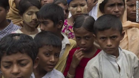 Rohingya Muslims targeted in Myanmar