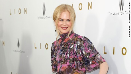 "NEW YORK, NY - NOVEMBER 16:  Nicole Kidman attends the premiere of ""Lion"" at Museum of Modern Art on November 16, 2016 in New York City.  (Photo by Taylor Hill/FilmMagic)"