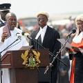 Ghana President John Dramani Maham