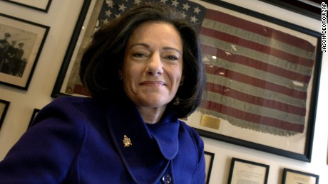 "Kathleen Troia ""KT"" McFarland, in a file photo from 2006 in her New York home, has been tapped to be a deputy national security adviser to president-elect Donald Trump."