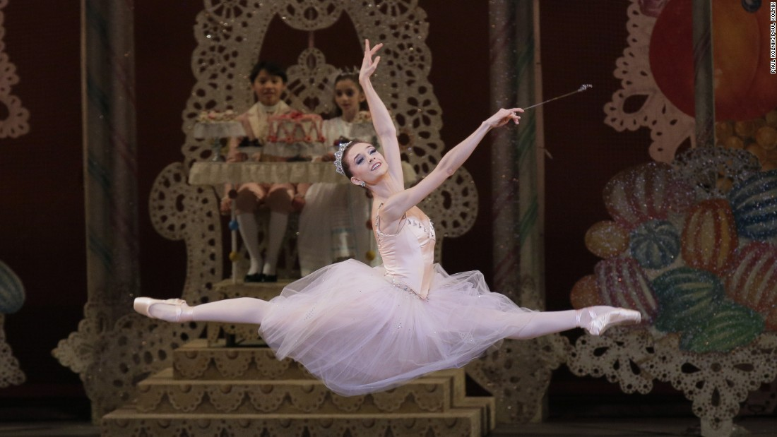 "As the Sugarplum Fairy in George Balanchine's ""The Nutcracker"" (Choreography George Balanchine)"
