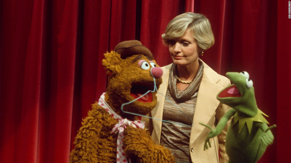 "Henderson appears on ""The Muppet Show"" in 1976."