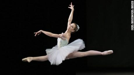 Lauren Lovette inRaymonda Variations Choreography George Balanchine  © The George Balanchine Trust New York City Ballet   Credit Photo: Paul Kolnik studio@paulkolnik.com nyc 212-362-7778