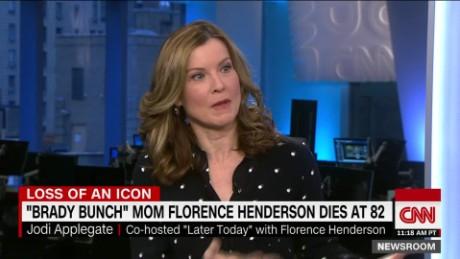 Jodi Applegate: Florence Henderson 'was maternal'