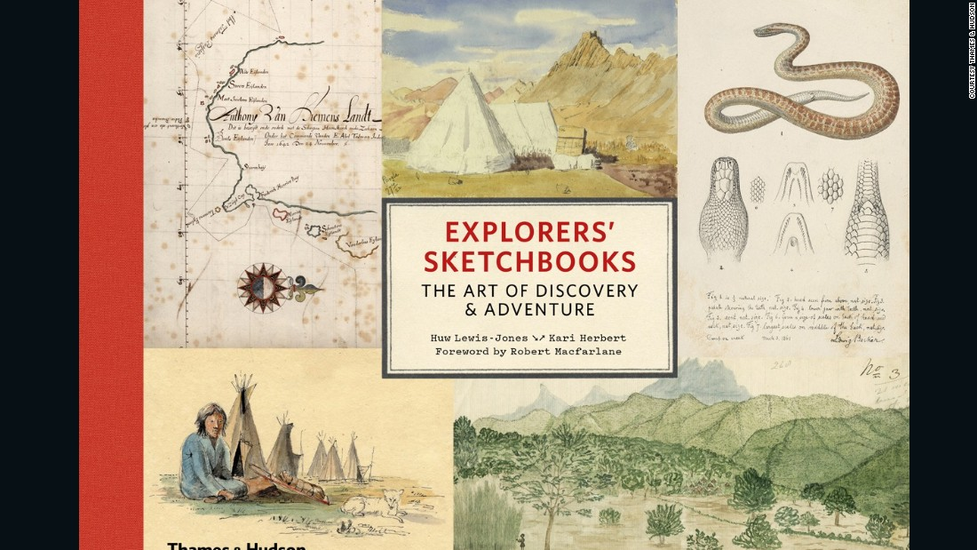"<a href=""https://www.amazon.co.uk/Explorers-Sketchbooks-Art-Discovery-Adventure/dp/050025219X/ref=sr_1_1?s=books&ie=UTF8&qid=1481798477&sr=1-1&keywords=explorers+sketchbooks"" target=""_blank"">""Explorers' Sketchbooks: The Art of Discovery & Adventure""</a> by Huw Lewis-Jones and Kari Herbert, published by Thames & Hudson, is out now."