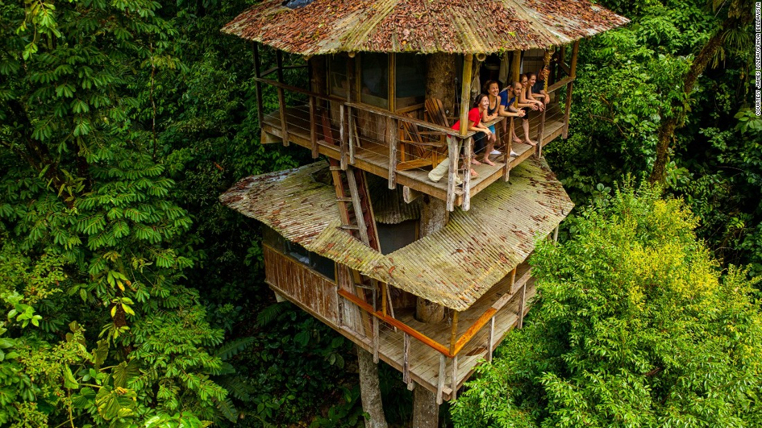 Amazing Is The Treehouse The Pinnacle Of Sustainable Living?   CNN Style