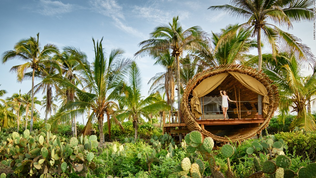 Eco Luxurious Tree Houses Around The World