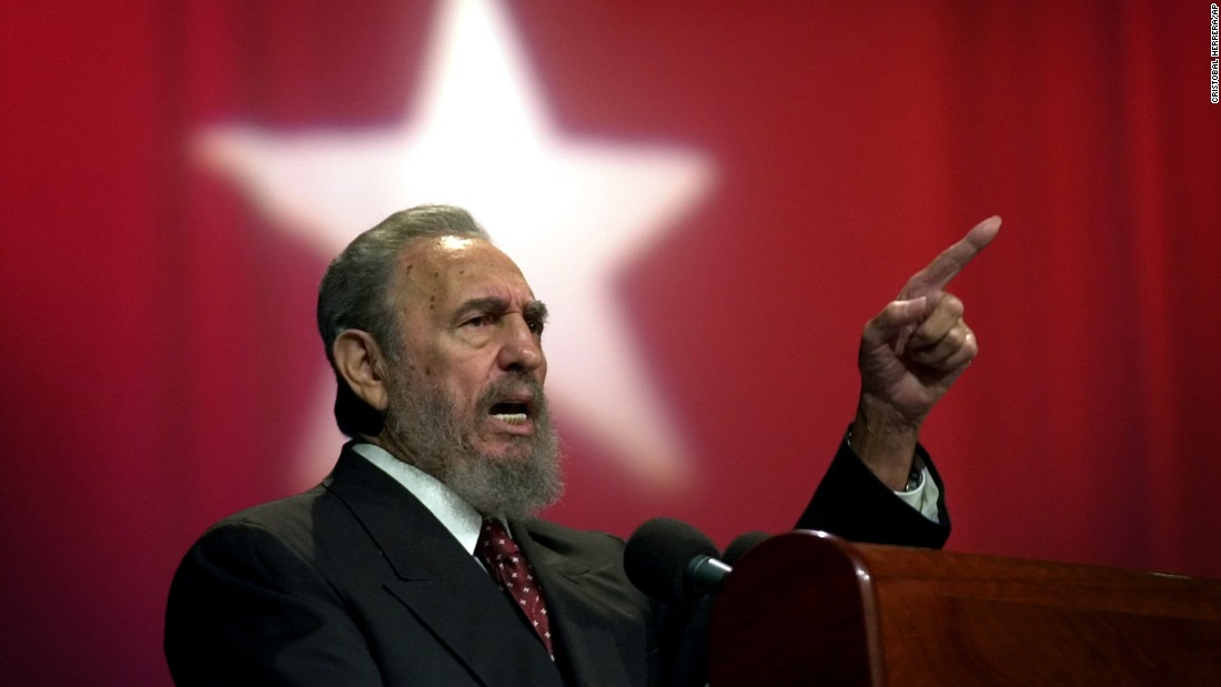 Castro in Havana in September 2002. Several surgeries forced him to relinquish his duties temporarily to younger brother Raul in July 2006.