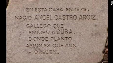 cnnee pkg rafael ramo raices fidel castro españa_00012824.jpg