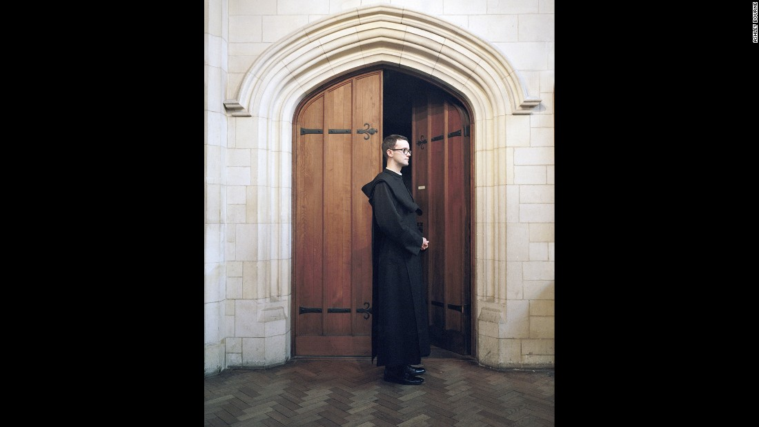 Brother Joshua is one of the Benedictine monks at Downside Abbey in southern England. Photographer Ashley Bourne spent weeks living at Downside Abbey and another monastery to get a sense of what it was like there.