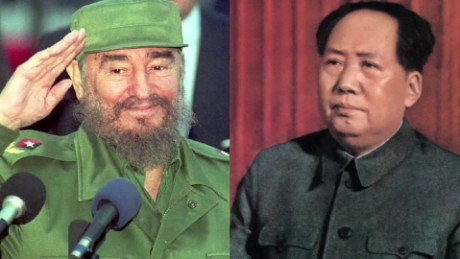 cnnee digital fidel castro mao zedong cuba china enemistad_00000000