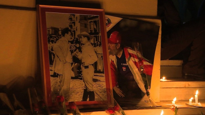 In Cuba, days of mourning for Fidel Castro