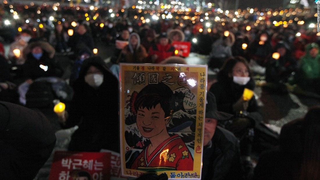 "Her resistance to resign has infuriated her critics, who have questioned her judgment. (Read the full story <a href=""http://edition.cnn.com/2016/11/26/asia/south-korea-mass-protests/index.html"" target=""_blank"">here</a>)"