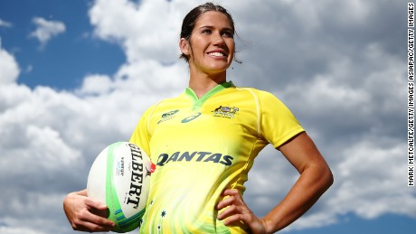 Charlotte Caslick finds sevens love on and off the rugby field