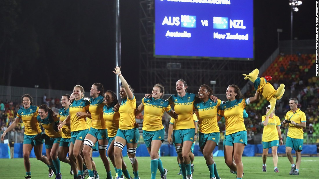 But the decision to stick with it paid off in some style as Australia became the inaugural Olympic sevens champion.